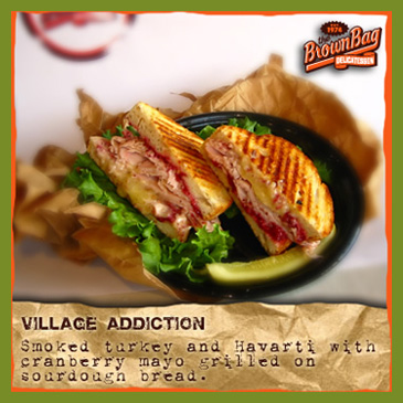 Village Addiction The Brown Bag Deli Columbus Ohio